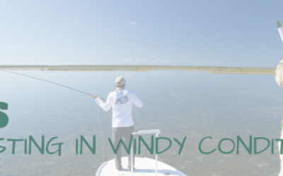 CASTING IN WINDY CONDITIONSIONS