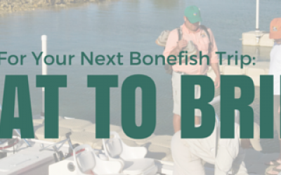 what to bring bonefishing