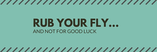 bonefishing : rub your fly